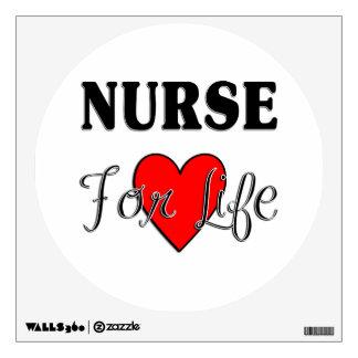 Nurse For Life Wall Graphics