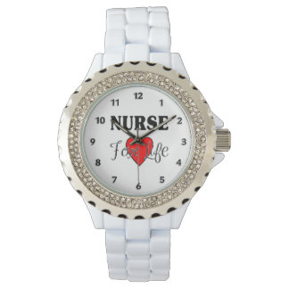 Nurse For Life Wrist Watches