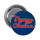 Nurse for Obama 2012 Buttons