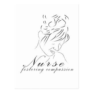"Nurse Fostering ""Compassion"" Postcards"