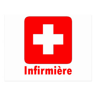 Nurse-French Postcard