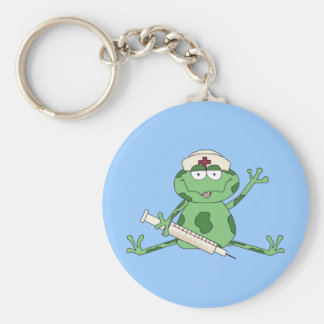 Nurse Frog Keychain