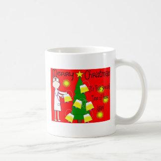 Nurse Funny and Twisted Christmas Humor Mugs