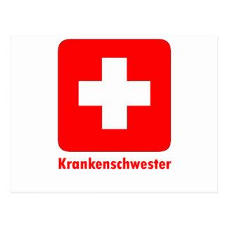 Nurse-German Postcard
