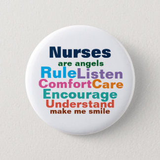 Nurse gift buttons. pinback button