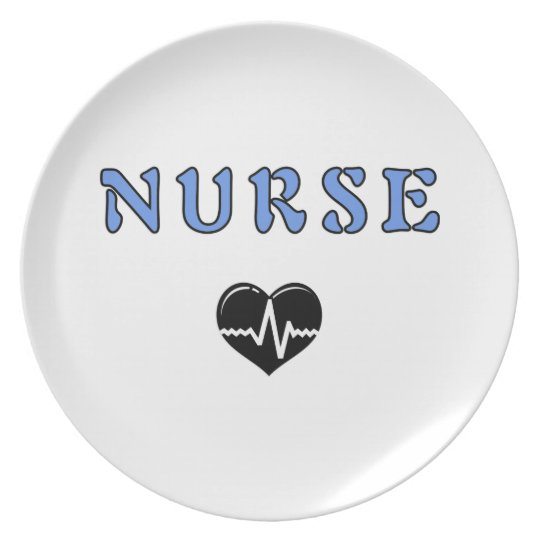 Nurse Gifts Plate