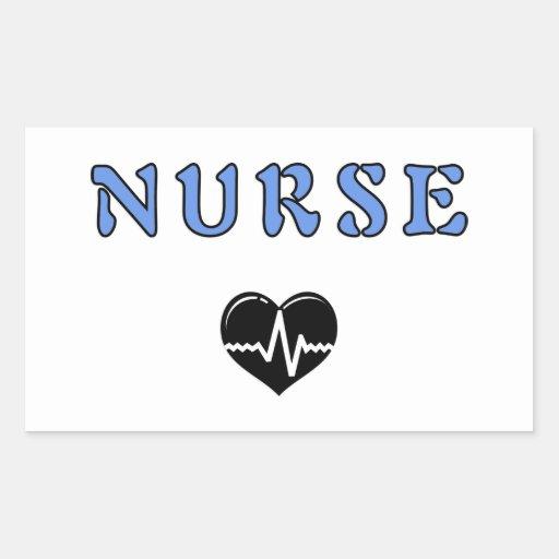 Nurse Gifts Rectangular Sticker