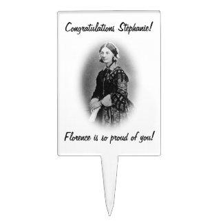 Nurse Grad Congratulations!-Customize Name Cake Topper