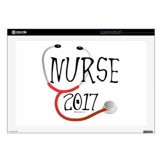 Nurse Graduate 2017 Laptop Skin