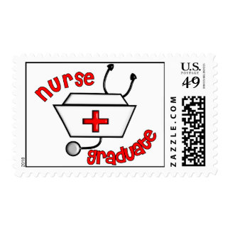 Nurse Graduate Postage Stamps