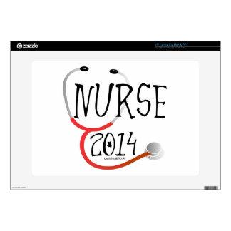Nurse Graduation Announcement 2015 Laptop Skins