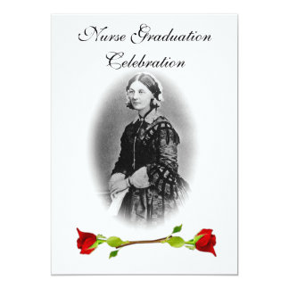 Nurse Graduation Celebration-Florence Nightingale Card