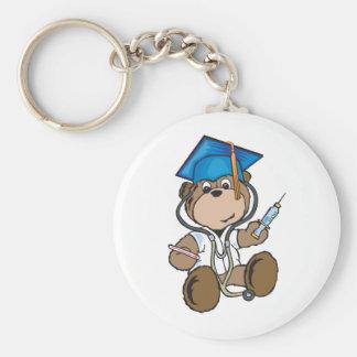 Nurse Graduation Gifts & Medical School Grads Basic Round Button Keychain