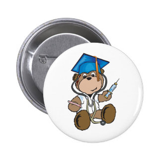 Nurse Graduation Gifts & Medical School Grads Pinback Button