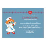 "Nurse Graduation Invitation 5"" X 7"" Invitation Card"
