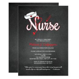 Graduation ceremony invitations announcements zazzle nurse graduation invitation party pinning ceremony stopboris Images
