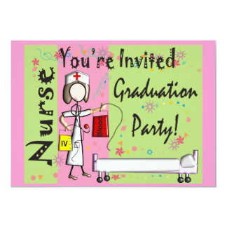 Nurse Graduation Invitations