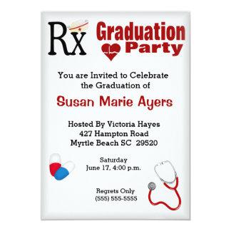 Nurse Graduation Party Invitation