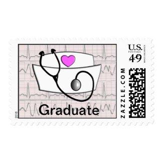 Nurse Cap Graduation Postage