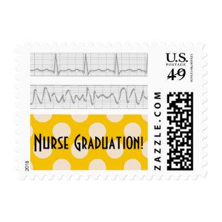 Nurse Graduation Postage Stamps