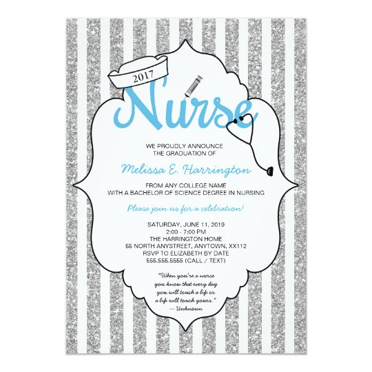 Nurse graduation, RN pinning ceremony, nurse party Card