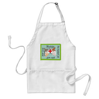 "Nurse ""Hardest Job You Will Ever Love"" Gifts Adult Apron"