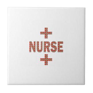 NURSE : HealthCare Hospital Medicine Charity GIFTS Ceramic Tile