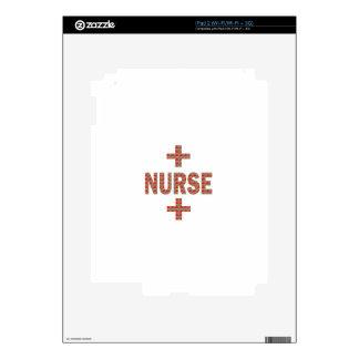 NURSE : HealthCare Hospital Medicine Charity GIFTS iPad 2 Skins