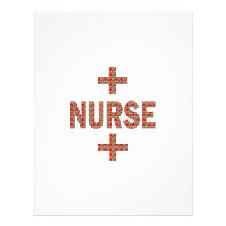 NURSE : HealthCare Hospital Medicine Charity GIFTS Letterhead