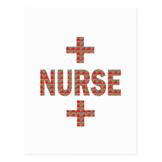 NURSE : HealthCare Hospital Medicine Charity GIFTS Post Card