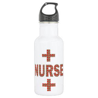 NURSE : HealthCare Hospital Medicine Charity 18oz Water Bottle