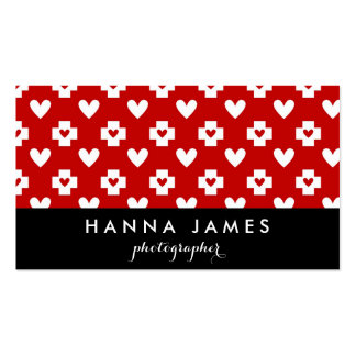 Nurse Heart Medical Personalized Business Card