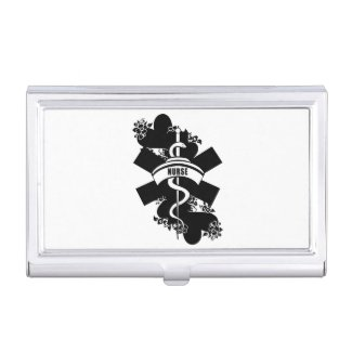 RN Nurse Business Card Case