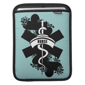 Nurse Heart Tattoo Sleeves For iPads