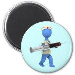 Nurse Humor 2 Inch Round Magnet
