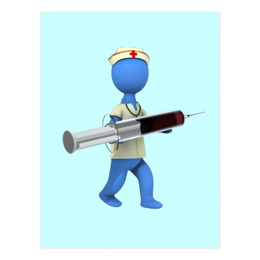 Nurse Humor Postcard