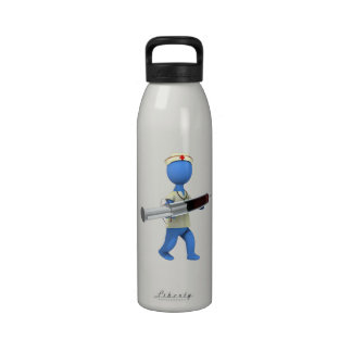 Nurse Humor Reusable Water Bottles