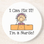Nurse I Can Fix It T-shirts and Gifts Beverage Coaster