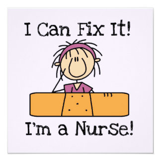 Nurse I Can Fix It T-shirts and Gifts Card