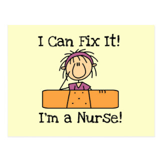 Nurse I Can Fix It T-shirts and Gifts Postcard