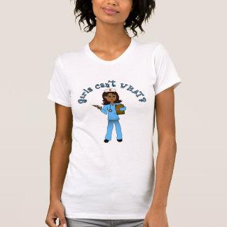 Nurse in Blue Scrubs (Dark) T-Shirt