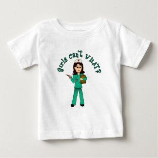 Nurse in Green Scrubs (Light) Baby T-Shirt