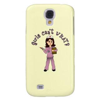 Nurse in Pink Scrubs (Light) Samsung Galaxy S4 Case