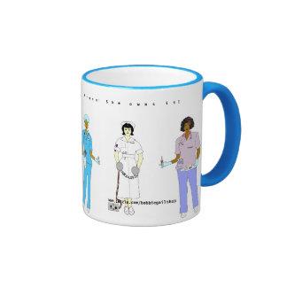 Nurse in the House! Ringer Coffee Mug
