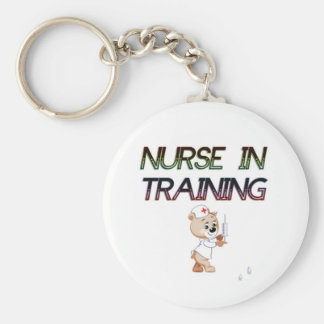 NURSE IN TRAINING KEYCHAIN
