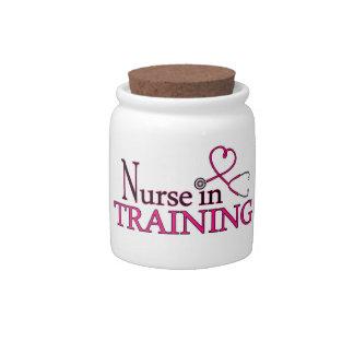 Nurse in Training - Pink Candy Jars