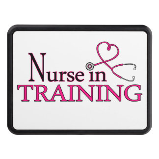 Nurse in Training - Pink Hitch Covers