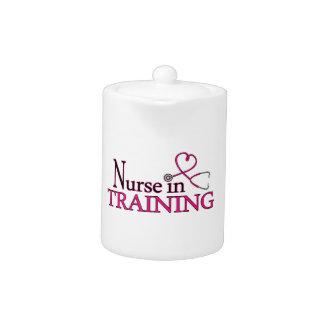 Nurse in Training - Pink Teapot