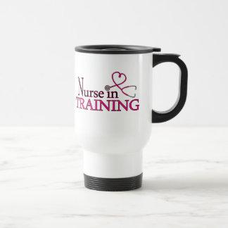 Nurse in Training - Pink Travel Mug