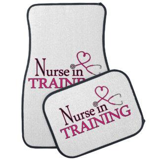 Nurse in Training - Pink Car Mat